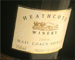 Heathcote Winery & Vineyards Pty Ltd  183 - 185 High Street  5433 2595