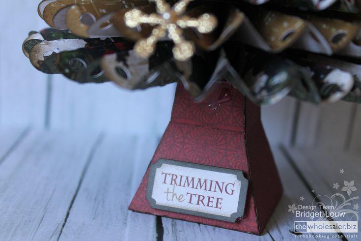 Kaisercraft Yuletide Rosette Christmas Tree Trimming