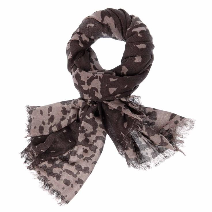 MYNUKA shawl taupe