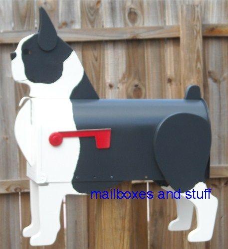 mailbox: Great Bostons, Bodacious Bostons, Pretty Bostons, Bostonterrier Mail, Boston ️Terriers, Dogs Boston Terriers, Bostonterrier Art, Terrier Mailbox
