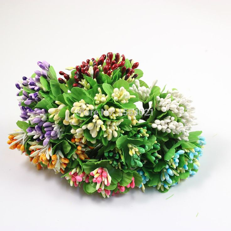 Find More Decorative Flowers & Wreaths Information about Free shipping mix color flower stamens flower cluster artificial flowers bunquets for wedding candy box decor 144pcs/lot,High Quality flower print,China flower carrier Suppliers, Cheap flower bedroom from YUGUO INDUSTRY AND TRADE LIMITED on Aliexpress.com