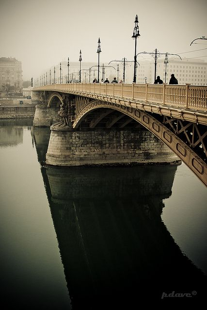 by p.dave, Budapest, Margit híd
