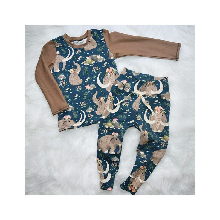 Adorable french terry baby or toddler outfit! Bub + Tribe