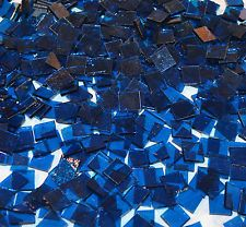 "100 1/2"" Tide Blue Stained Glass Mosaic Tiles"