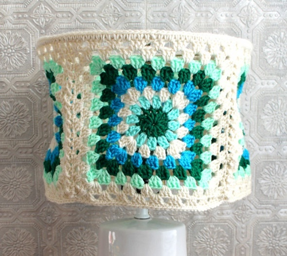 17 Best Images About Crochet Home Decor Lamp Shades On Pinterest Flower Lamp Crochet