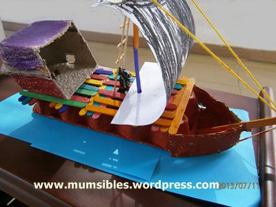 how to build a pirate ship with popsicle sticks