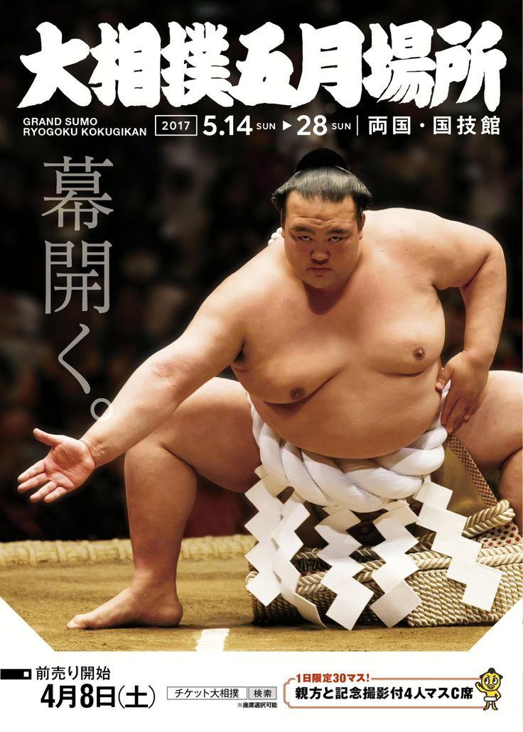 大相撲五月場所チラシ #sumo #相撲 #チラシ