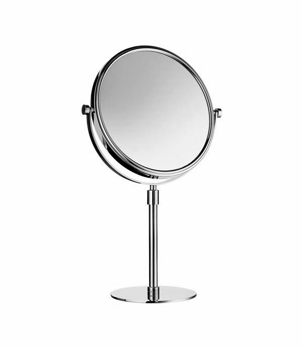 Product image for Smedbo Outline F/S Magnifying Mirror (Diameter: 200mm)  From www.ukbathrooms.com  5% off with voucher code: XMASMIRROR  throughout December!  #Gift #Present #Mirror #Christmas