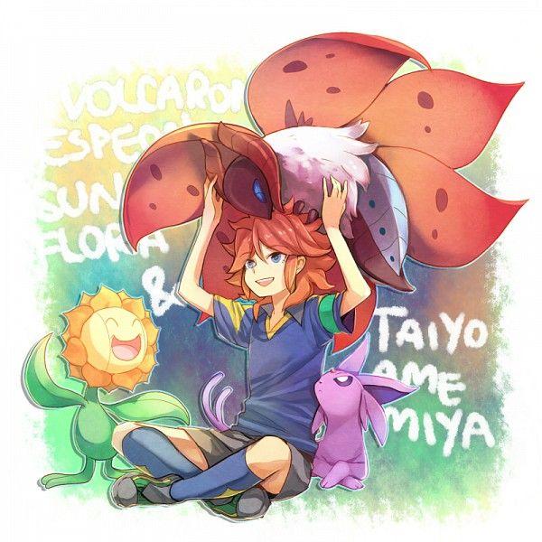 Amemiya Taiyou -  Pokemon