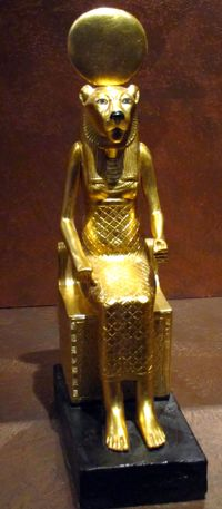 *TUTANKHAMUN TREASURES: made by modern Egyptian artist in Cairo + of exceptional quality. Copy of artifact from King Tut's Tomb.