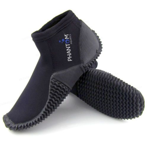 Phantom-Aquatics-3mm-Surf-Snorkeling-Dive-Boots-Size-9-2-Days-Shipping