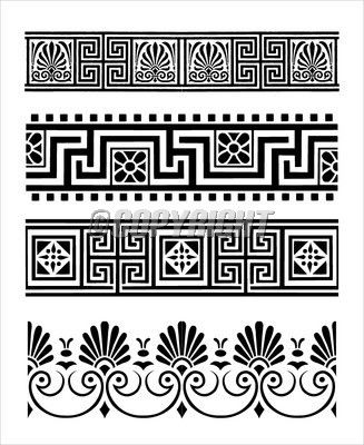 Greek ornaments