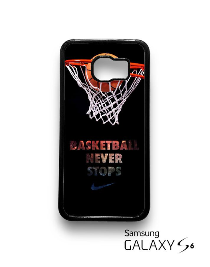 Nike Basketball Never Stop Samsung Galaxy S6 S6 Edge Case by thecase