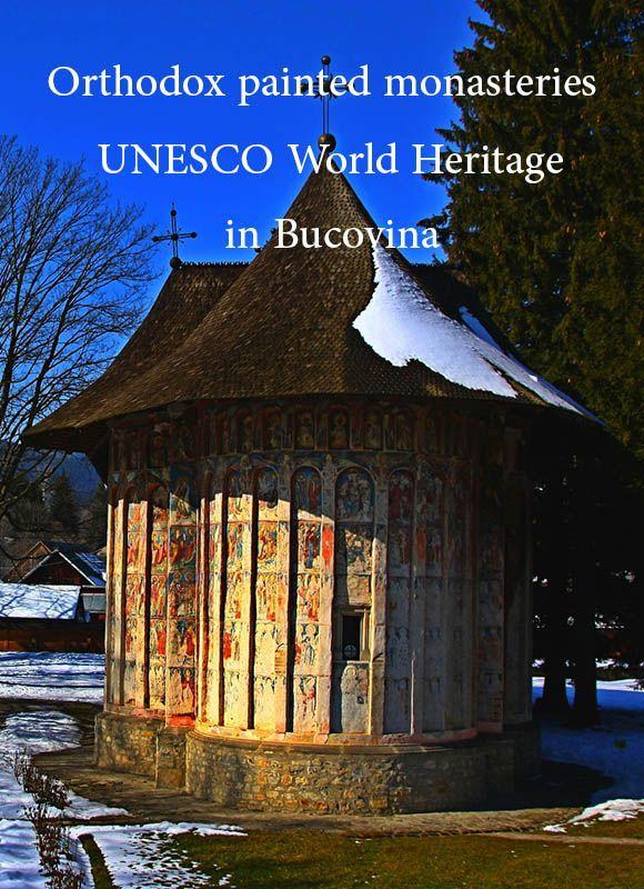 Romania Travel Inspiration - Biserica Mânăstirii Voroneț in Voroneț, Suceava