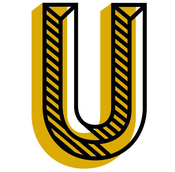 "Daily Drop Cap ""U"" by Jessica Hische"