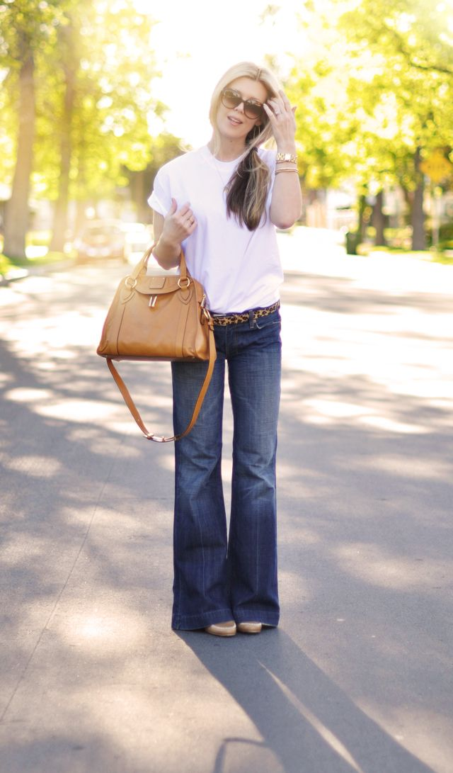 Like this look of jeans with flats