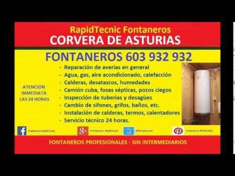 Fontaneros Corvera De Asturias 603 932 932 baratos