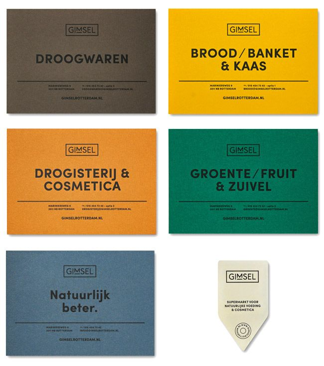 Gimsel, Organic Supermarket #identity loved at #rockcandymedia