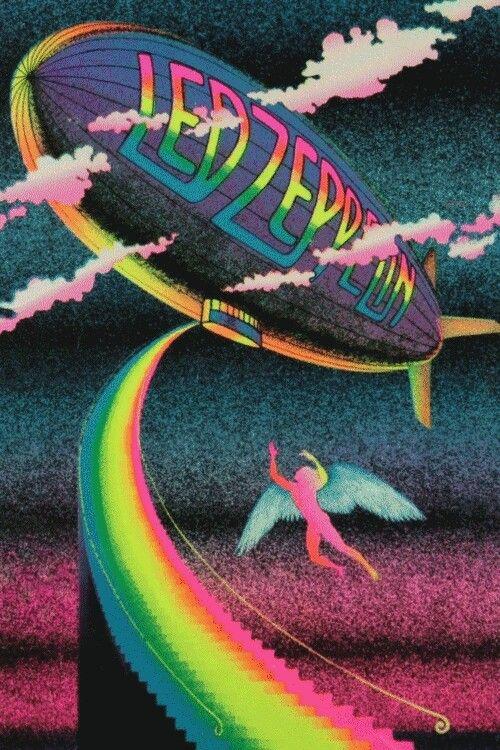 **gif**: Led Zeppelin, Classic Rocks, Ledzeppelin, Ledzepplin, Black Lights, Rolls, Posters, Led Zepplin, The Bands