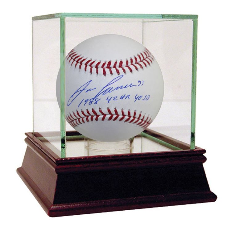 """Jose Canseco Signed MLB Baseball w/ """"1988, 42 HR , 40/50"""" Insc."""