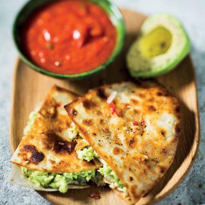 Taste Mag | Toasted avocado quesadilla wraps @ http://taste.co.za/recipes/toasted-avocado-quesadilla-wraps/