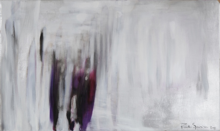 Silence never bothered them, 65x110cm