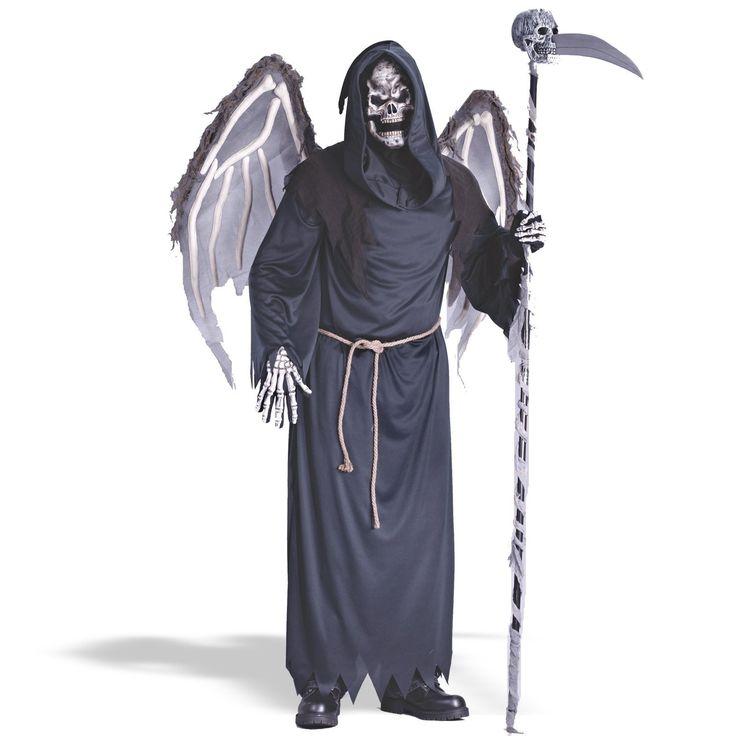 winged reaper halloween costume 4585 direct 2 u fancy dress superstore fancy dress - Reaper Halloween