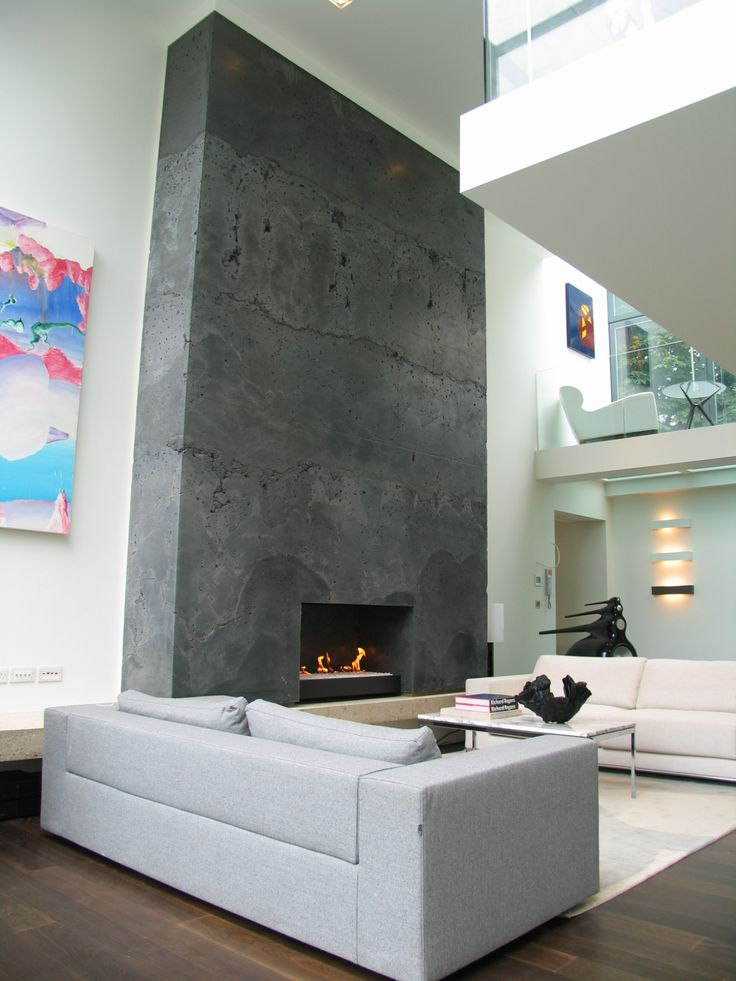 7 best Rendered Fireplaces images on Pinterest   Concrete ...