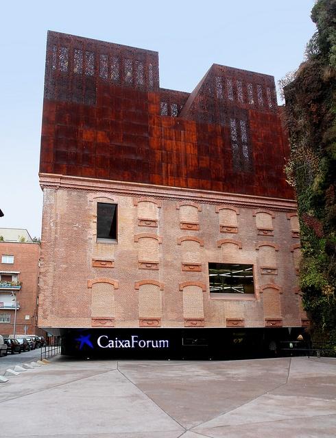 Caixa Forum Madrid, Herzog and De Meuron | Madrid | Spain
