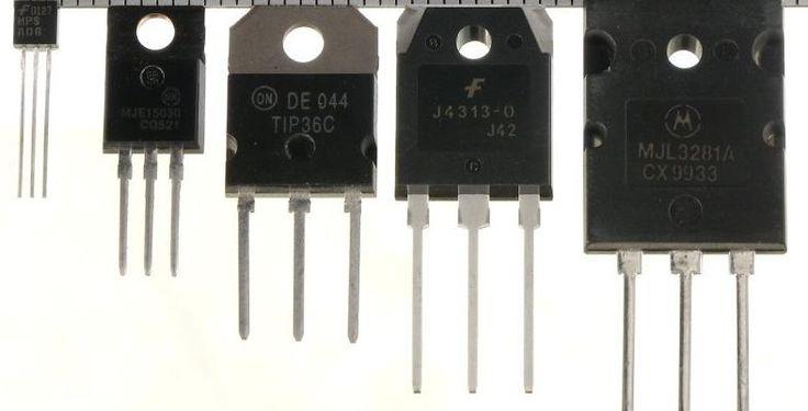 Tabela de pinagens (pinos) dos principais transistores e reguladores de tensão. Como o bc 547 e reguladores da série 78xx e 79xx.      NPN PNP Pinagem   BC107 BC108 BC109 BC177 BC178 BC179    BC147 BC148 BC149 BC157 BC158 BC159    BC167 BC168 BC169 BC257 BC258 BC259    BC171 BC172 BC173 BC182 BC183 BC184 BC251 BC252 BC253 BC212 BC213 BC214    BC207 BC208 BC209 BC204 BC205 BC206    BC237 BC238 BC239 BC307 BC308 BC309    BC317 BC318 BC319 BC337 BC347 BC348 BC349 BC382 BC383 BC384 BC320 BC321…