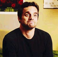 Nick Miller: I don't know how he does it, but his frown looks like a smile