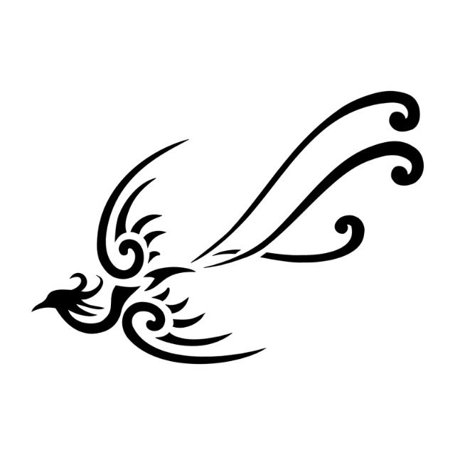 The phoenix tattoo represents renewal, rebirth and the beginning of a new life. The rising of the phoenix symbolizes that a person has gone through difficult times, but has resurrected and survived. It means that he or she has arisen from flames as a winner, beating all life challenges and defeating hard times.