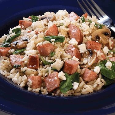 Hillshire Farm | Mediterranean Rice with Smoked Sausage