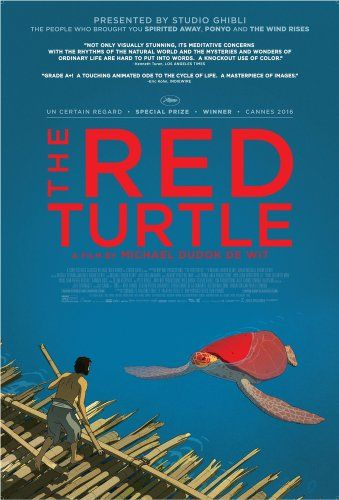 The Red Turtle: The dialogue-less film follows the major life stages of a castaway on a deserted tropical island populated by turtles, crabs and birds.