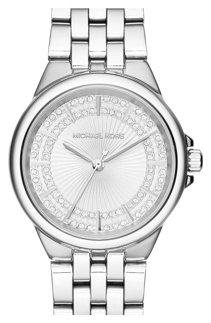 MICHAEL Michael Kors Michael Kors \u0027Slim Camille\u0027 Crystal Dial Bracelet Watch,  (Nordstrom Exclusive) available at