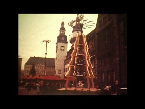 Weihnachtsmarkt Karl-Marx-Stadt [1986] - YouTube