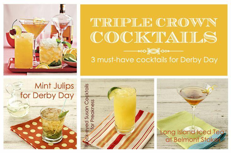Triple Crown Drink Recipes