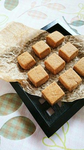父の日に☆簡単コーヒーキューブクッキー。