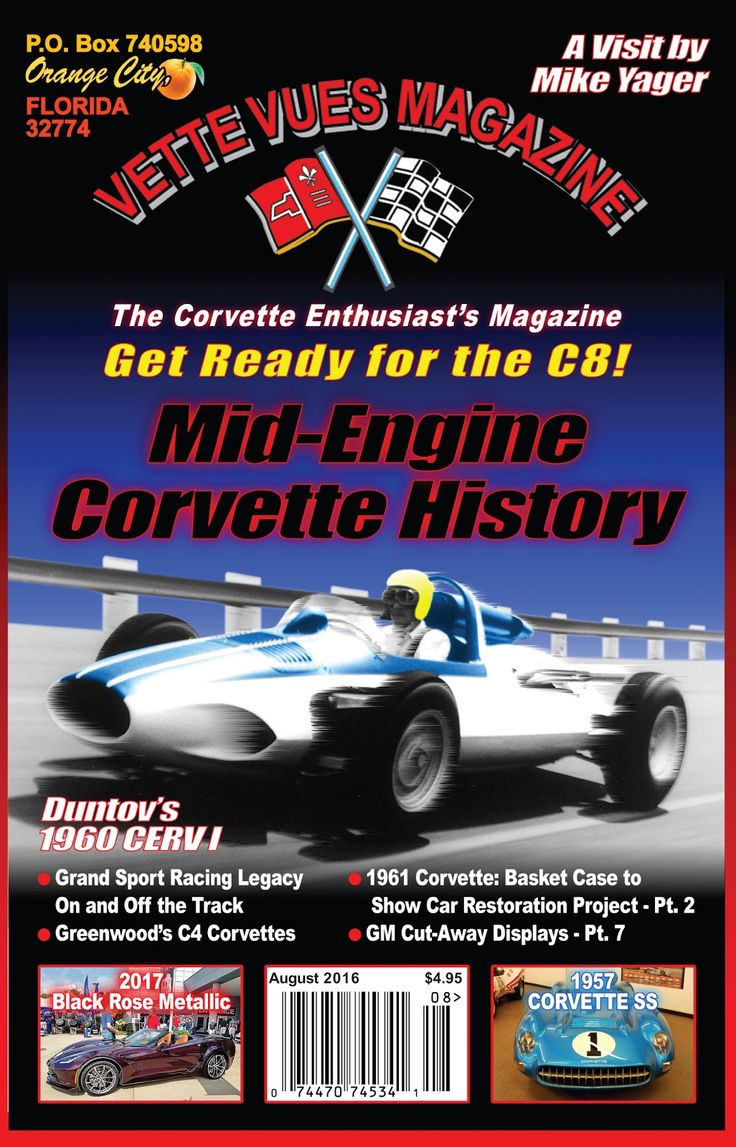 A blog about corvettes of all years