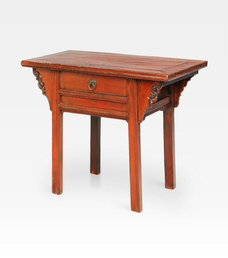 Antico tavolo consolle cina consolle antica cinese un - Consolle che diventa tavolo ...
