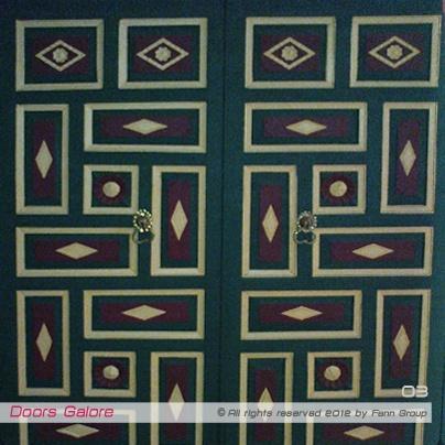 Fenn Arts: Doors Galore, Bey Palace, Constantine, Algeria