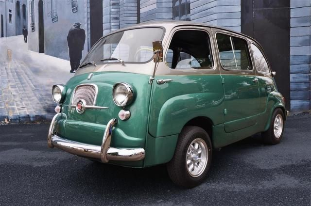Fiat 600D Multipla - Never seen one of these on the road but would love one