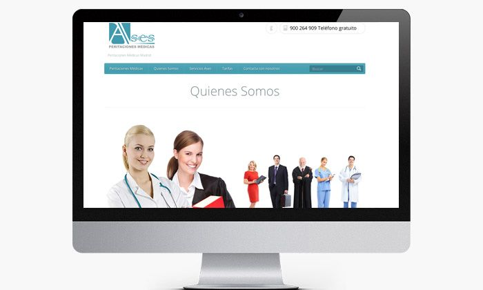 http://www.basicum.es/portfolio-item/diseno-web-empresa-ases-peritaciones-medicas/ Sección interna de la web de peritaciones medicas creado por Basicum.es