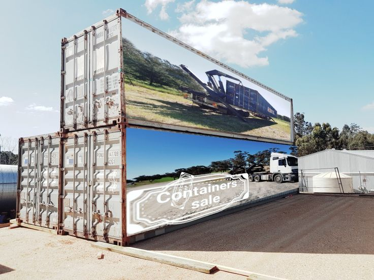 Used shipping containers for sale victoria