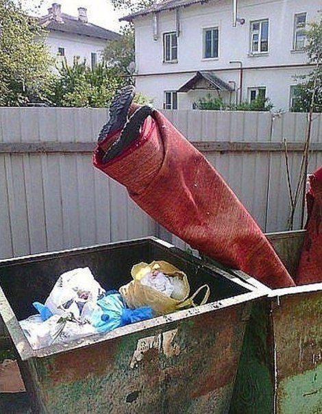 Для поздравительных, картинки мусор смешные