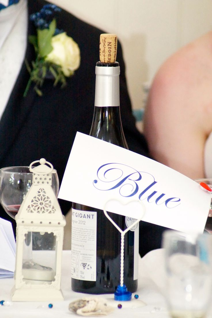 Blue themed wedding <3  16/08/2014