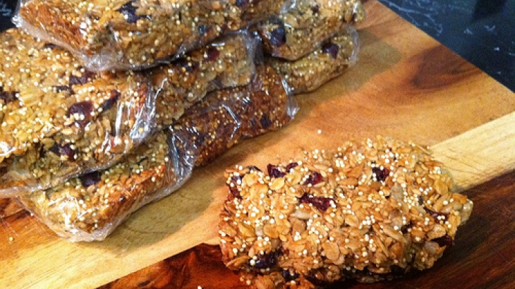 Fruit and Seed Granola Bars | Recipes | Pinterest