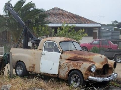 An old Holden FX Pick Up Ute. Just needs a little TLC!!!. v@e