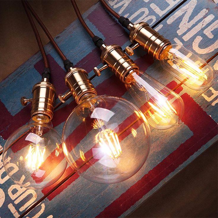10 Pcs 220 V 40 W Edison Lâmpada E27 Incandescente Retro Do Vintage lâmpada Decoração Da Casa Iluminação Lampada Edison G80 G95 G125 Lâmpadas Lâmpada em Lâmpadas incandescentes de Luzes & Iluminaçao no AliExpress.com | Alibaba Group