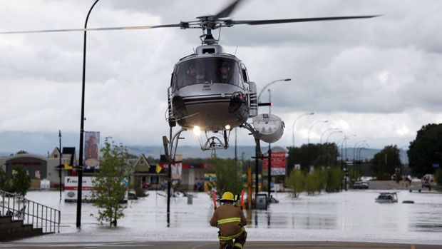Alberta premier warns of downstream floods to come - Canada - CBC News